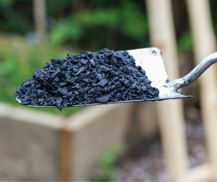 Carbon capturing biochar