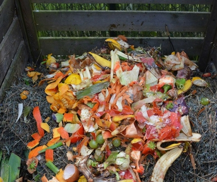 Hot Composting - Converting a cold winter compost heap into a warm winter heap